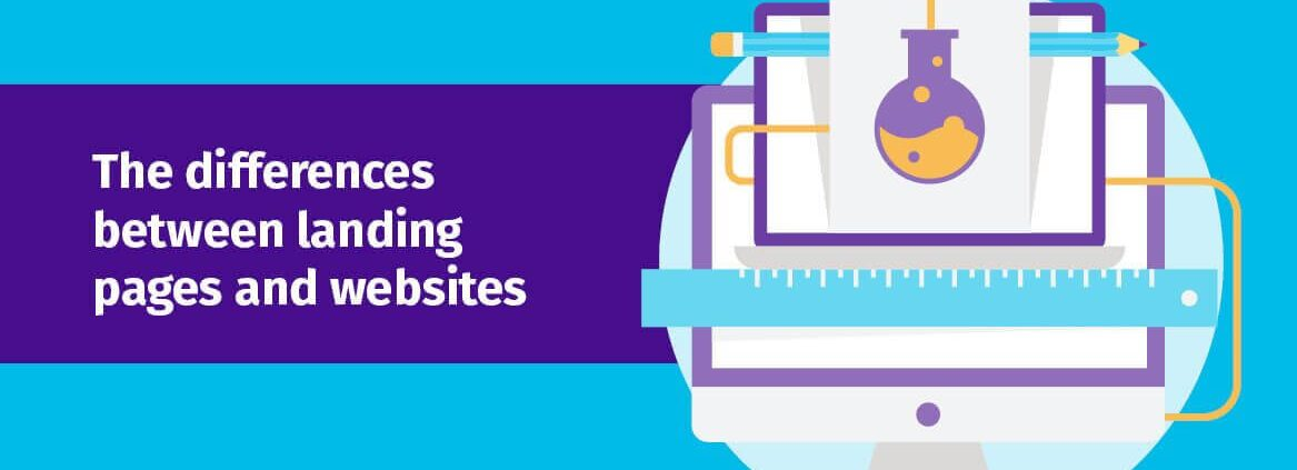 The Difference Between Landing Pages and Websites header
