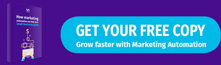Grow faster with marketing automation call to action