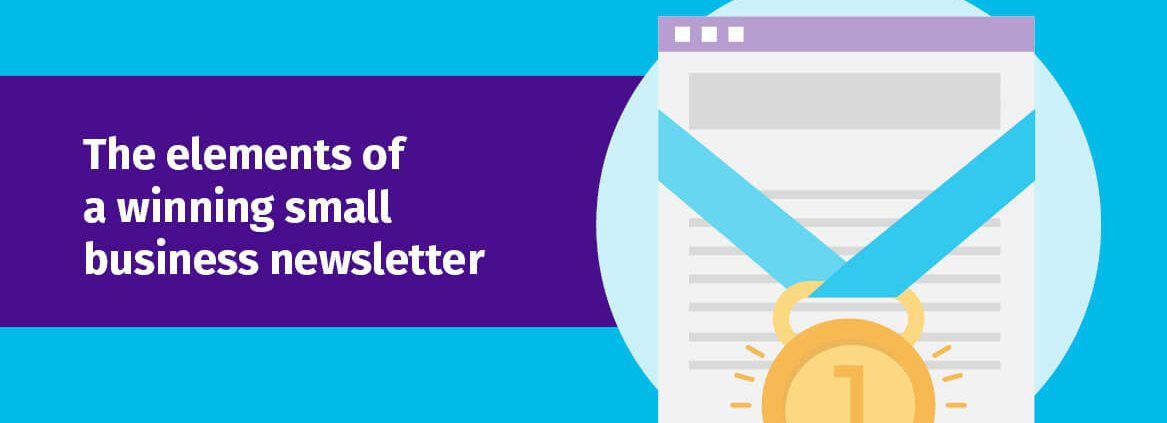 The elements of a winning small business newsletter header