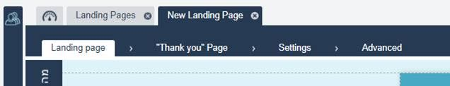 landing page management