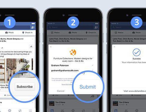 יבוא אנשי קשר מפייסבוק leads ads
