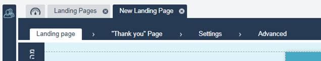 landing page management